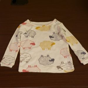 $2 with bundle! Baby Girl Sheep Sleep Shirt